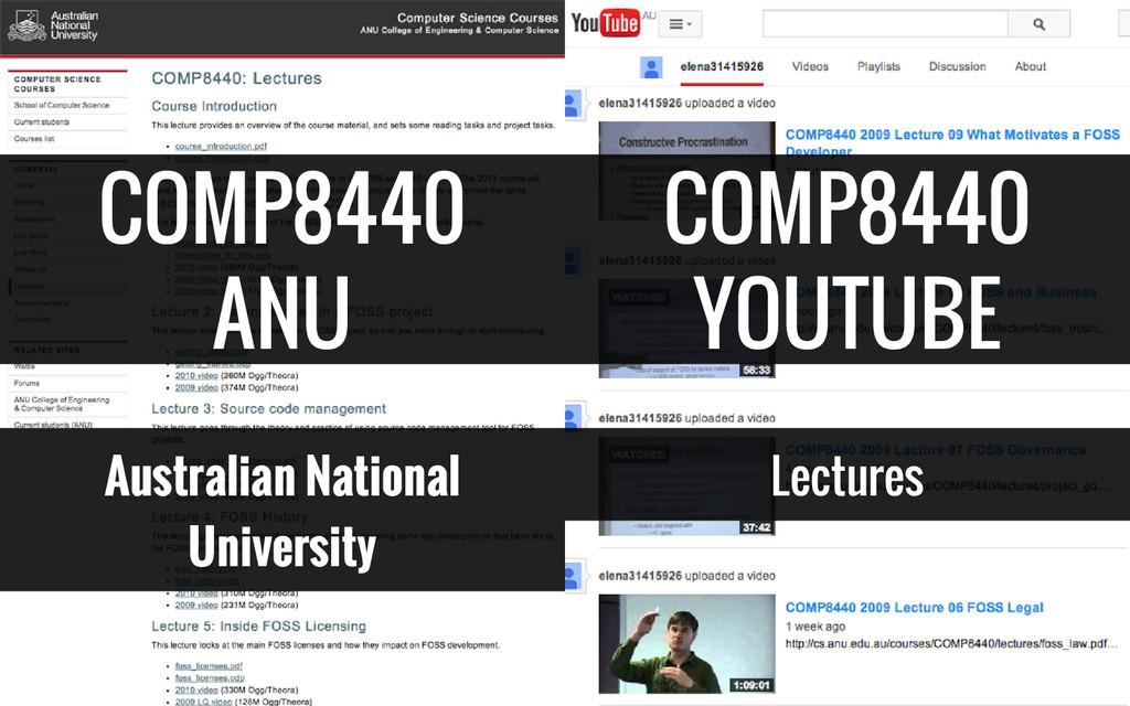 COMP8440 ANU Australian National University COM...