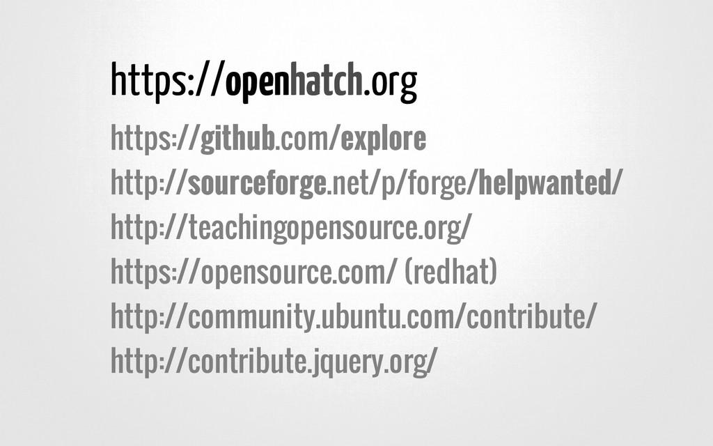 https://open .org https://github.com/explore ht...