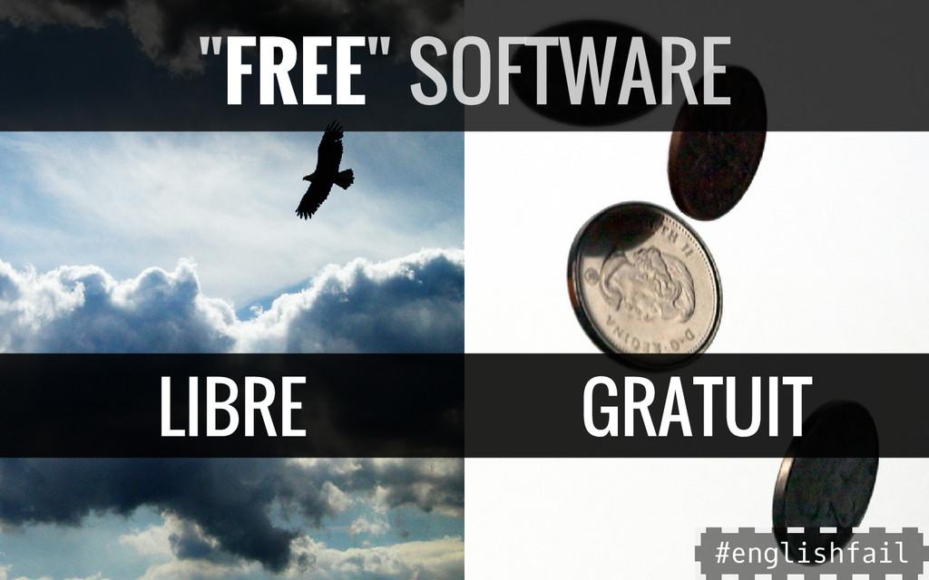 """LIBRE GRATUIT """"FREE"""" SOFTWARE # e n g l i s h f..."""