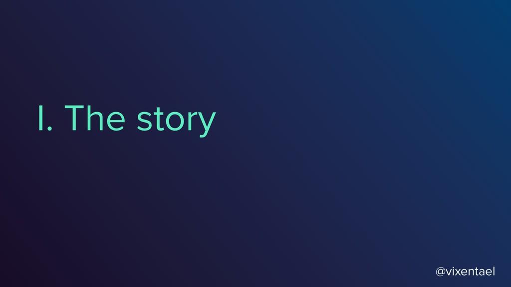 I. The story @vixentael