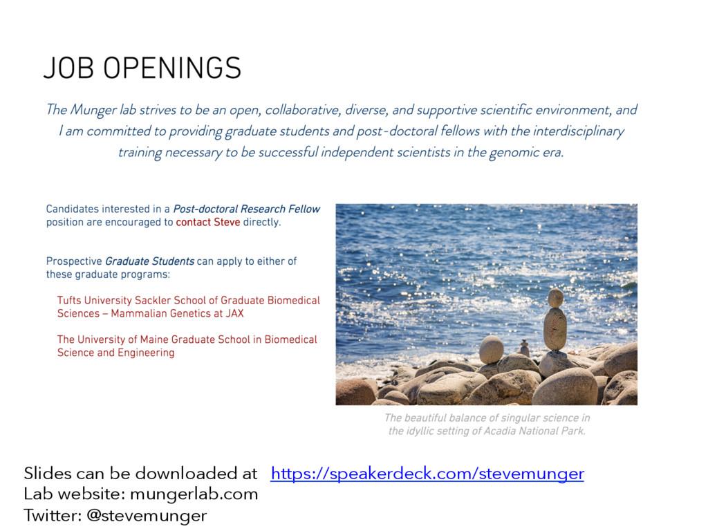 Slides can be downloaded at https://speakerdeck...
