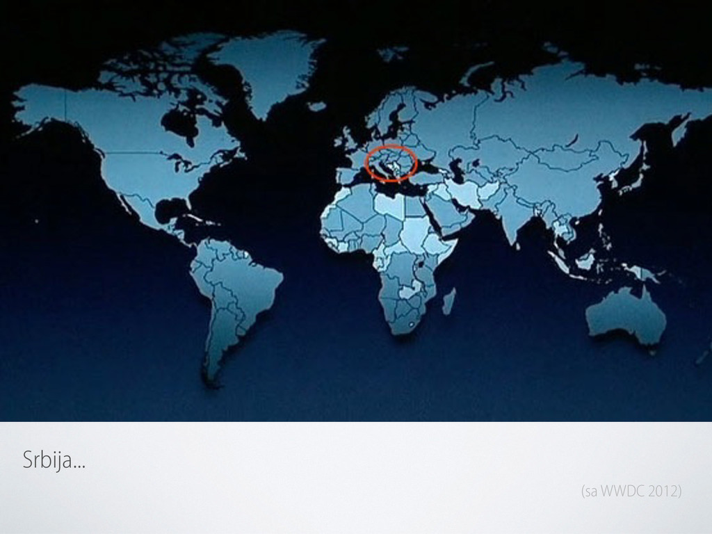Srbija... (sa WWDC 2012)