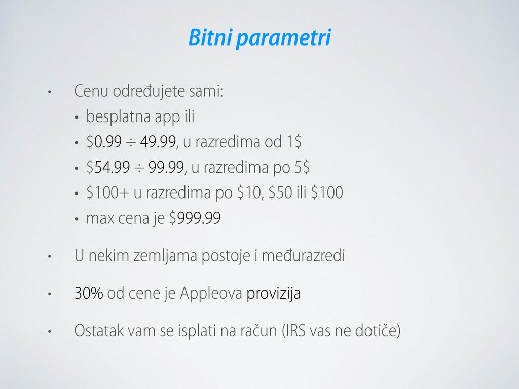 • Cenu određujete sami:  • besplatna app ili ...