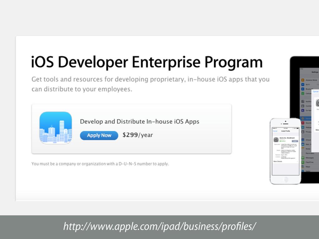 http://www.apple.com/ipad/business/profiles/