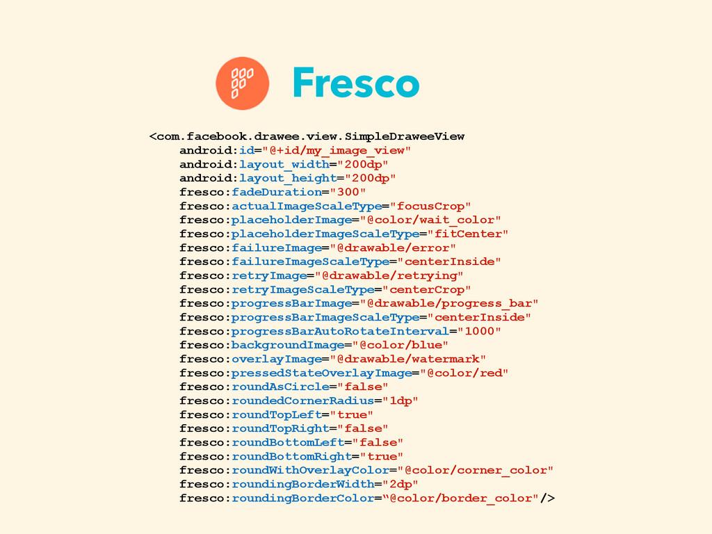 Fresco <com.facebook.drawee.view.SimpleDraweeVi...