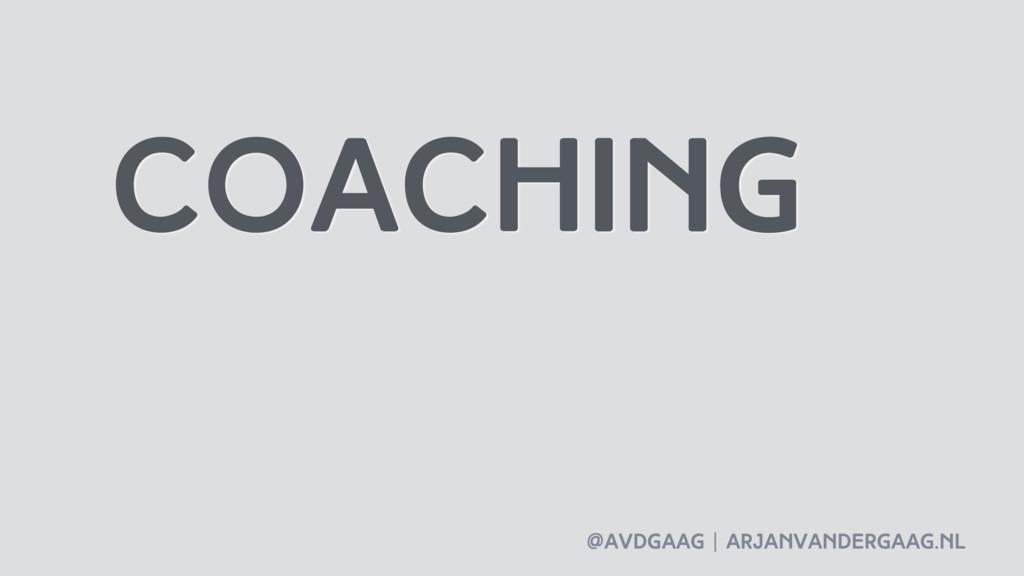 @avdgaag   arjanvandergaag.nl coaching