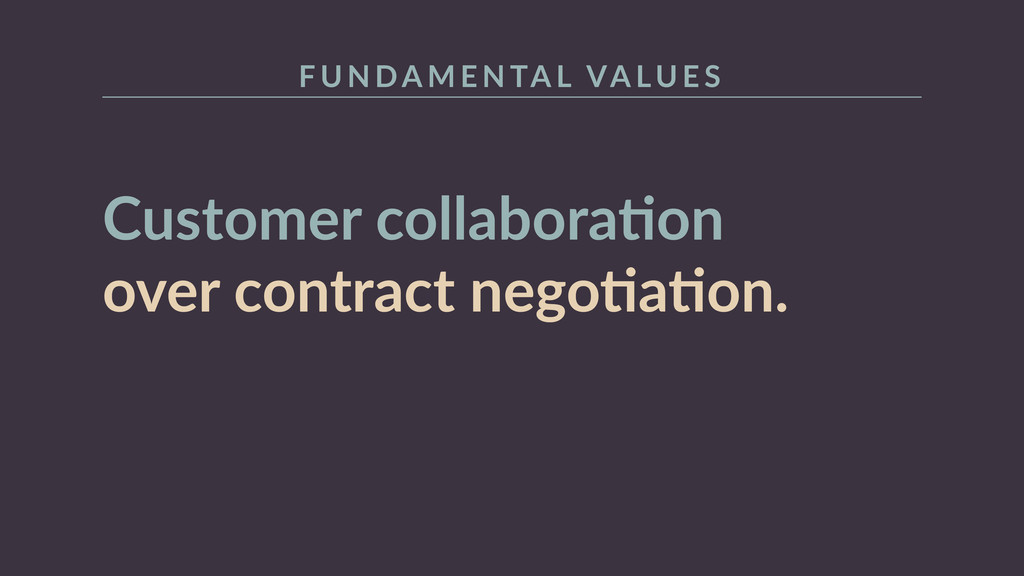 Customer  collaboraRon   over  contract  negoRa...