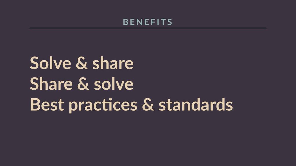 Solve & share  Share & solve  Best pracR...