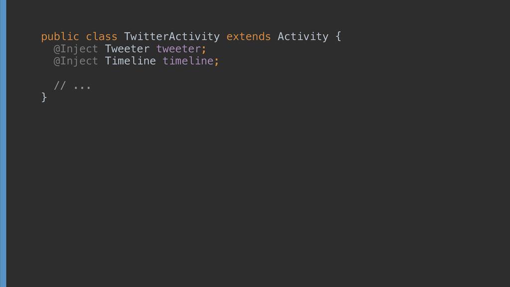 public class TwitterActivity extends Activity {...