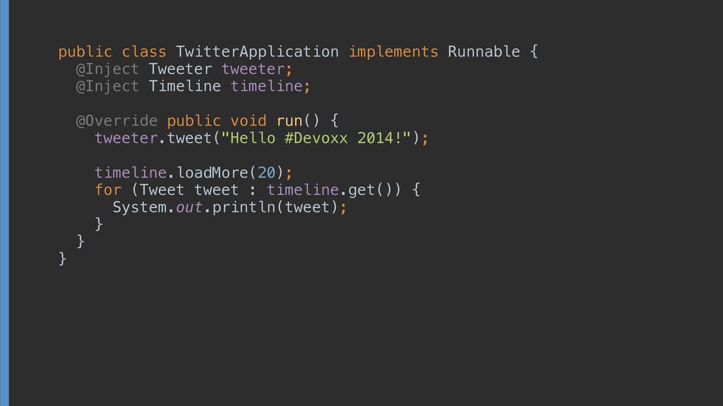 public class TwitterApplication implements Runn...