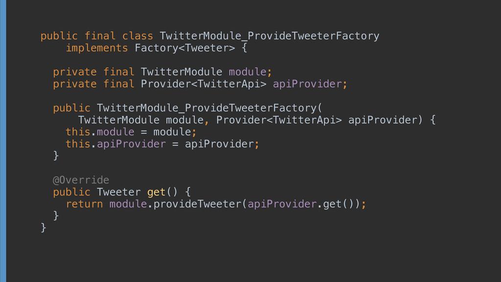 public final class TwitterModule_ProvideTweeter...