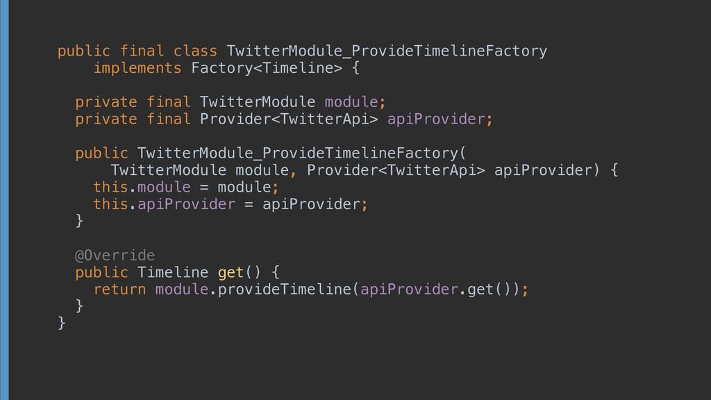 public final class TwitterModule_ProvideTimelin...
