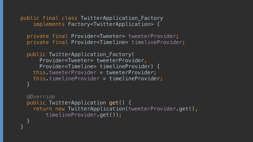 public final class TwitterApplication_Factory i...