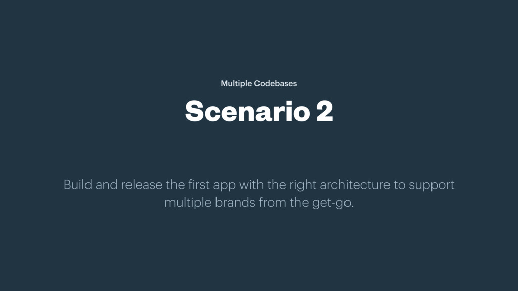 Build and release the first app with the right ...