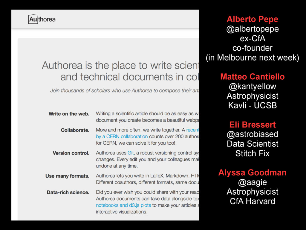 Alberto Pepe @albertopepe ex-CfA co-founder (in...