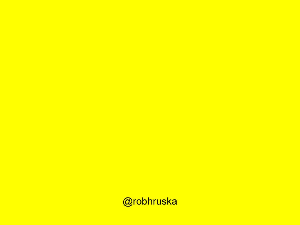 @robhruska