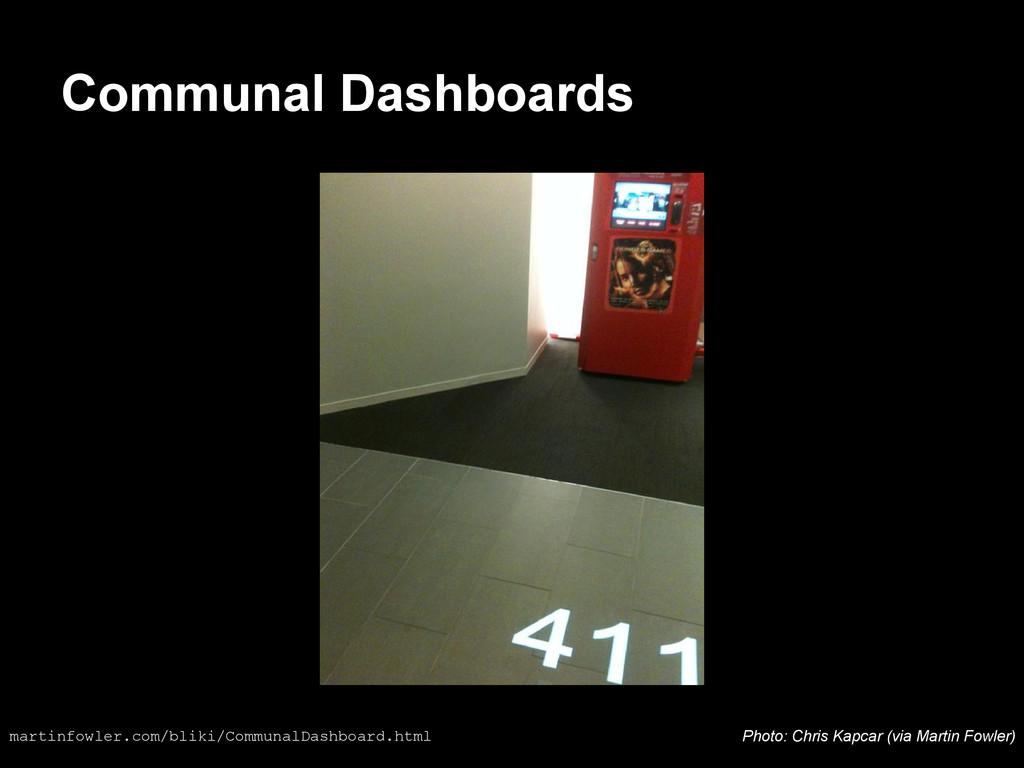 Communal Dashboards martinfowler.com/bliki/Comm...