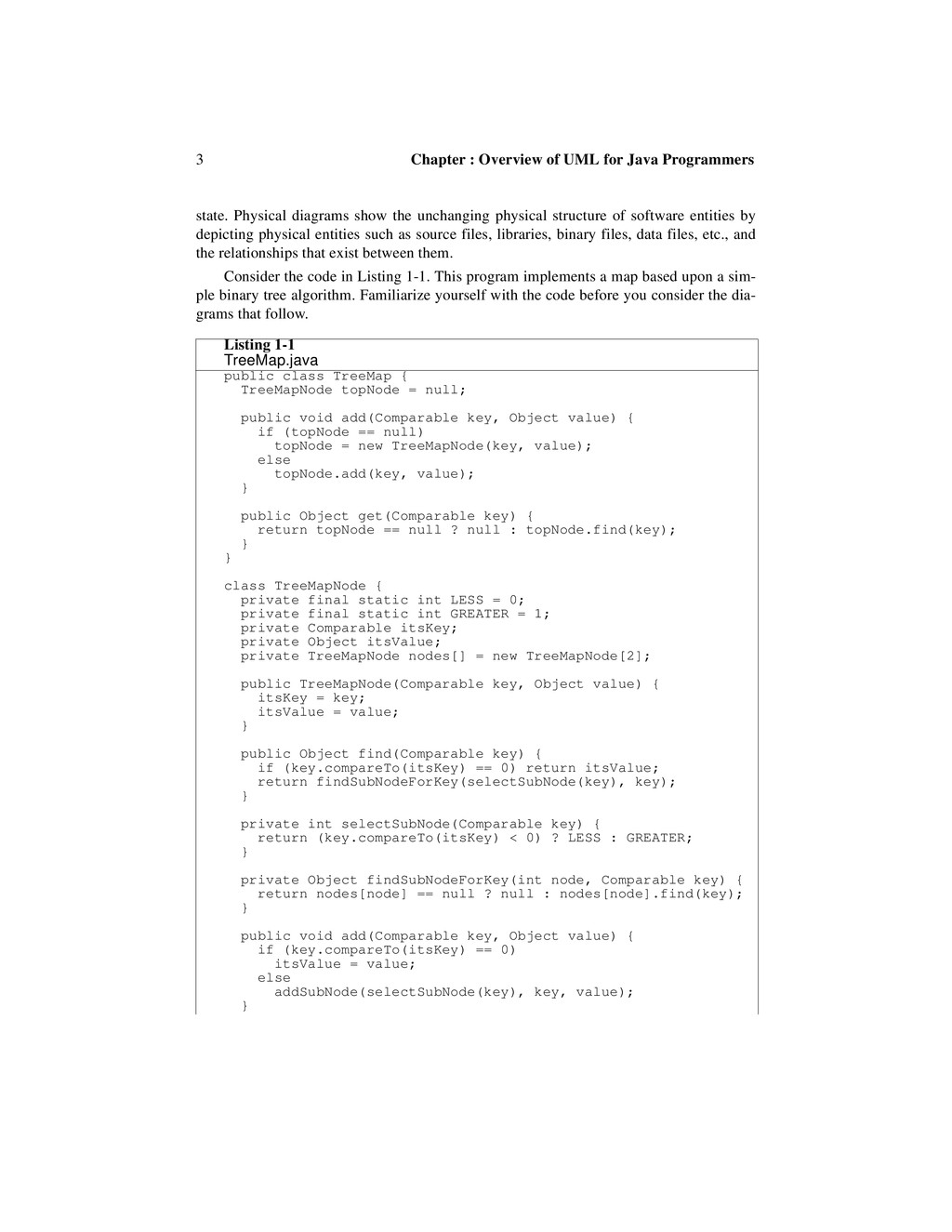 3 Chapter : Overview of UML for Java Programmer...