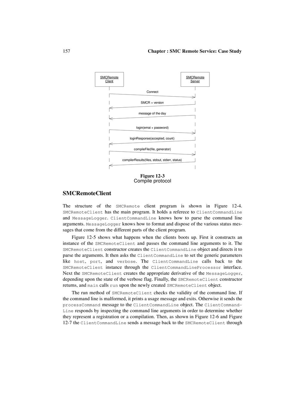 157 Chapter : SMC Remote Service: Case Study SM...