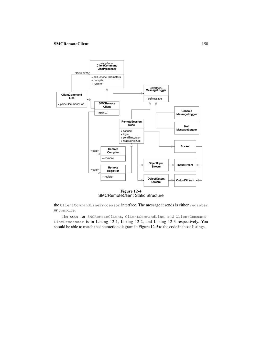 158 SMCRemoteClient the ClientCommandLineProces...