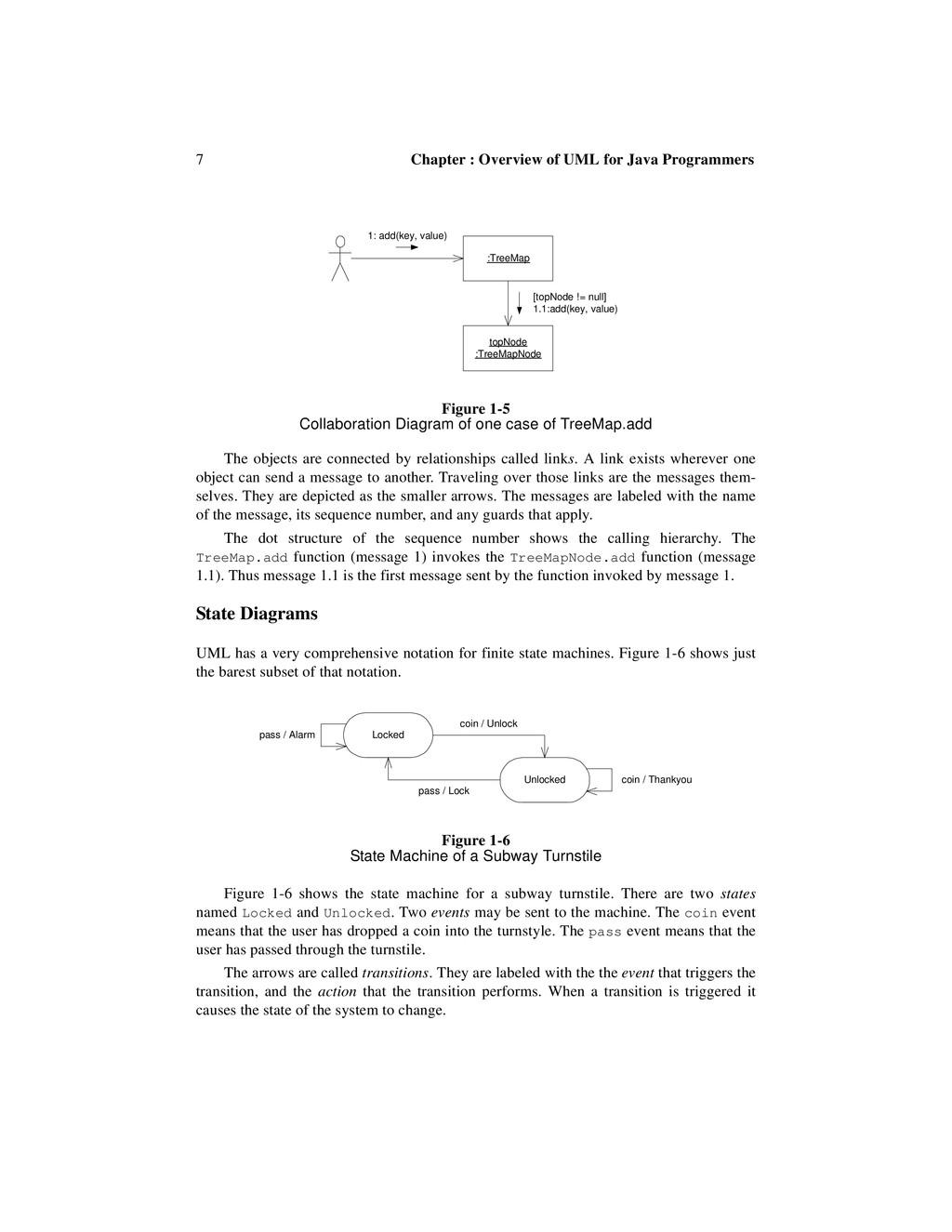 7 Chapter : Overview of UML for Java Programmer...
