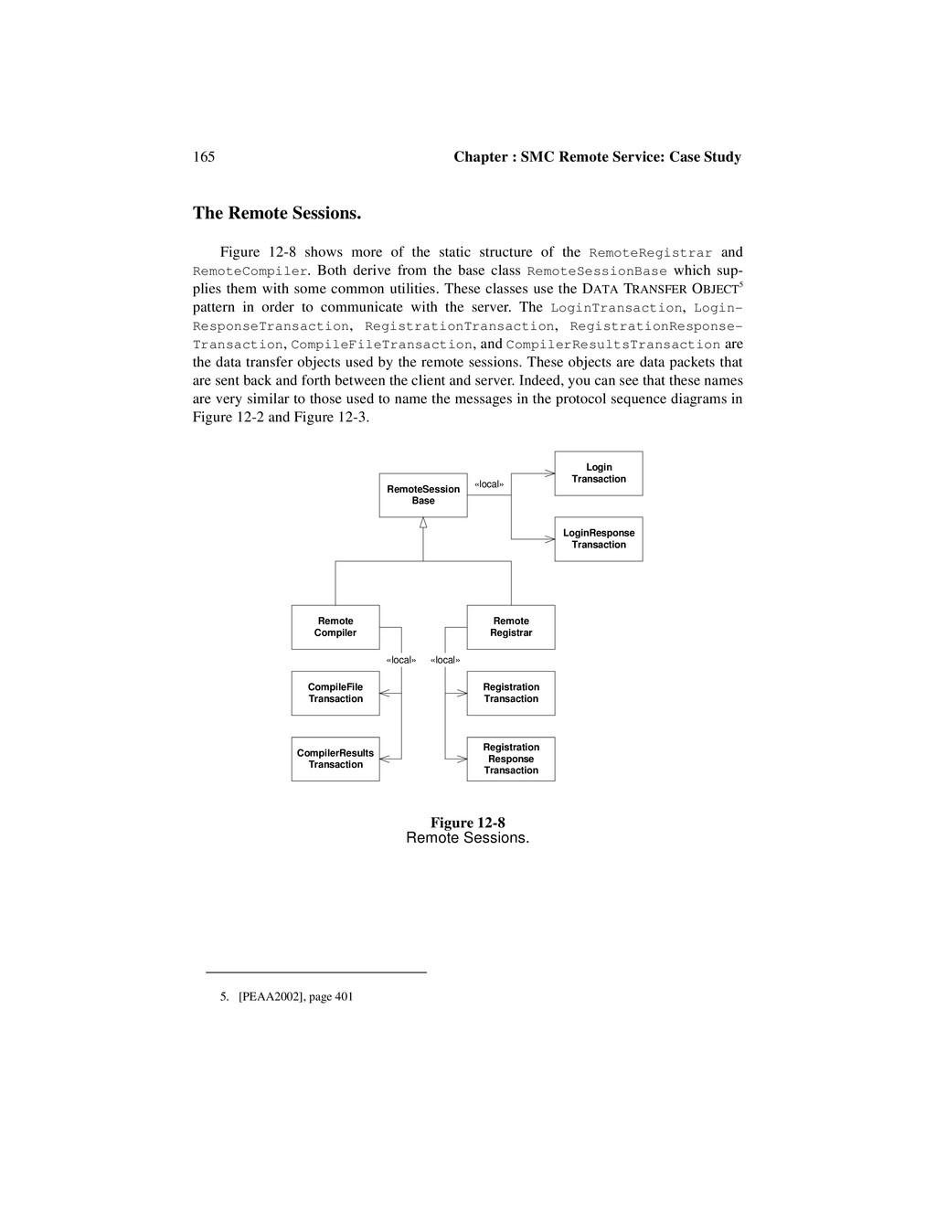 165 Chapter : SMC Remote Service: Case Study Th...