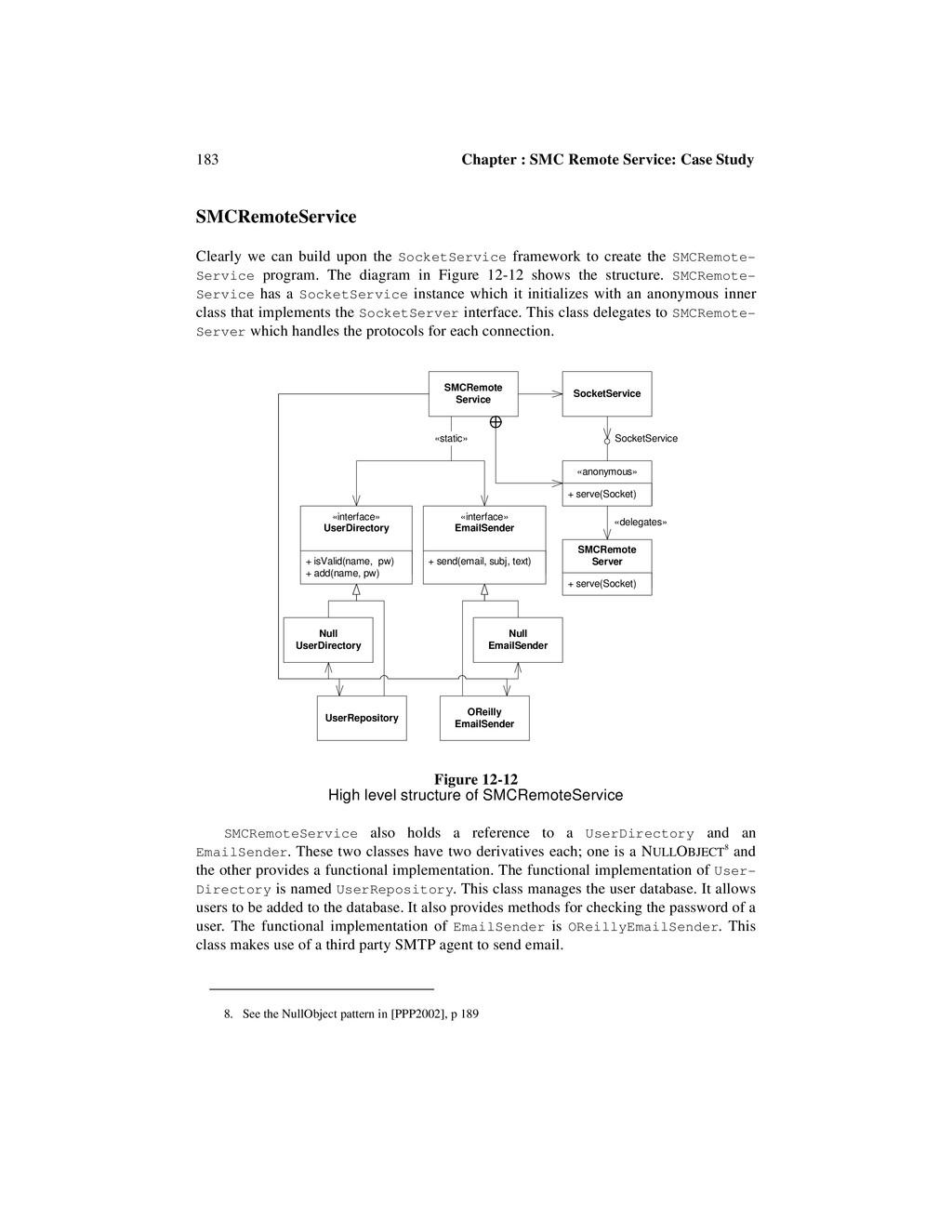183 Chapter : SMC Remote Service: Case Study SM...