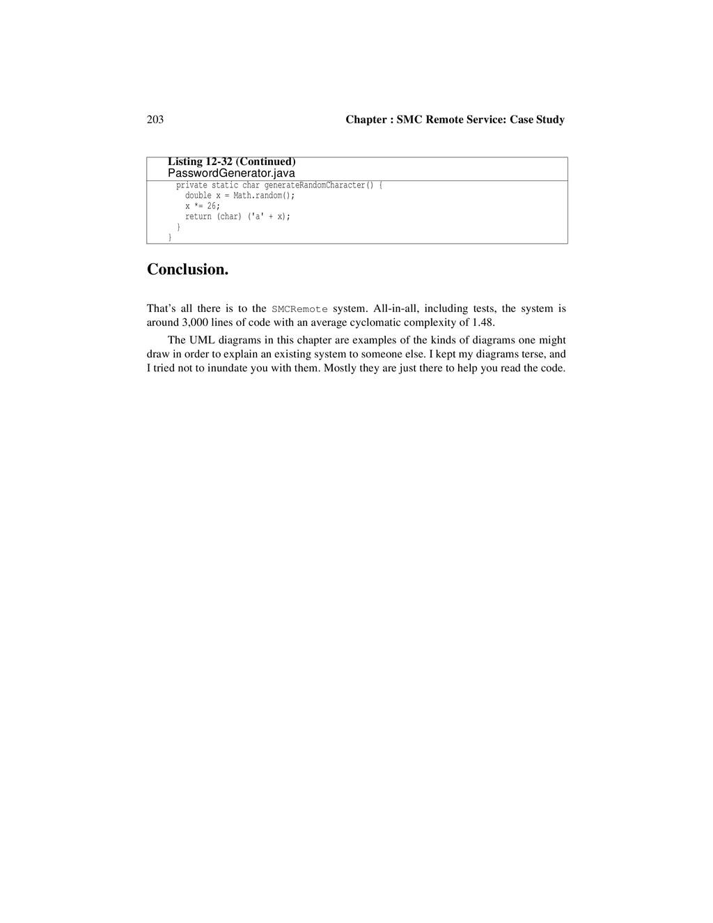 203 Chapter : SMC Remote Service: Case Study Co...