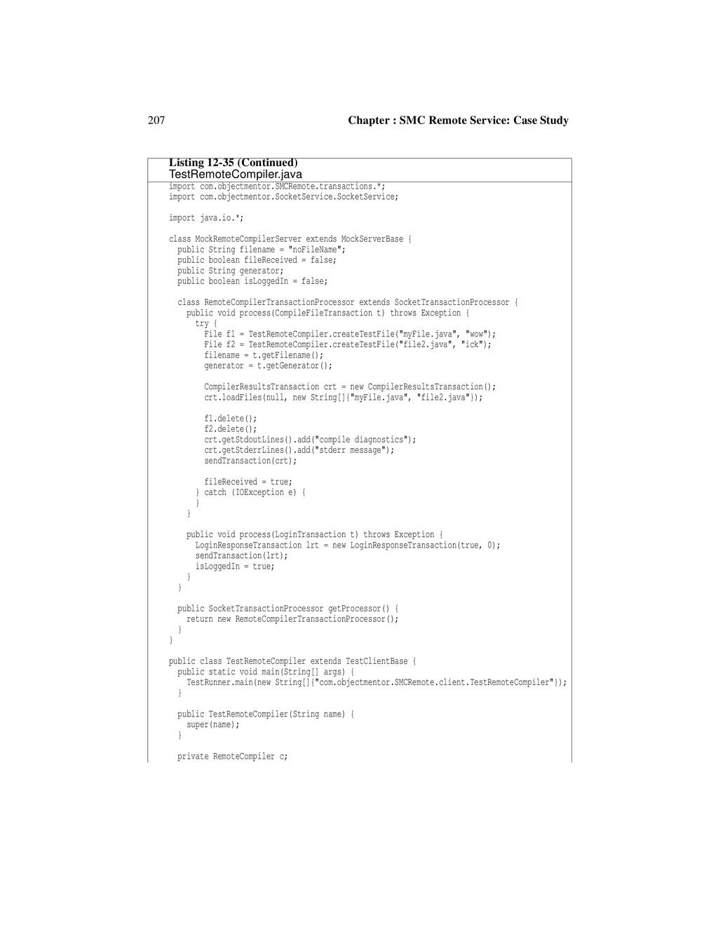 207 Chapter : SMC Remote Service: Case Study im...