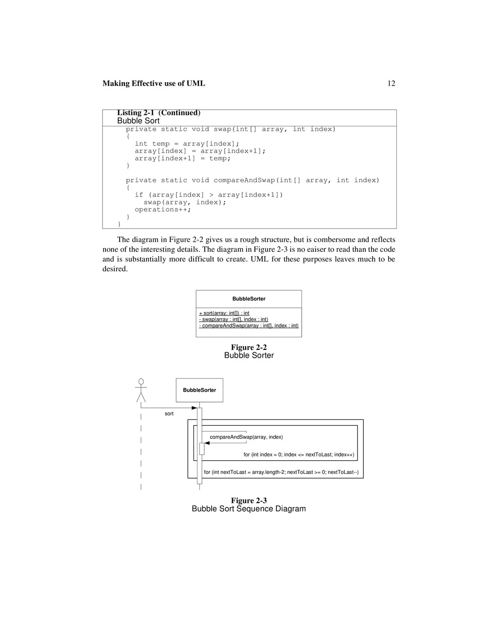 12 Making Effective use of UML The diagram in F...