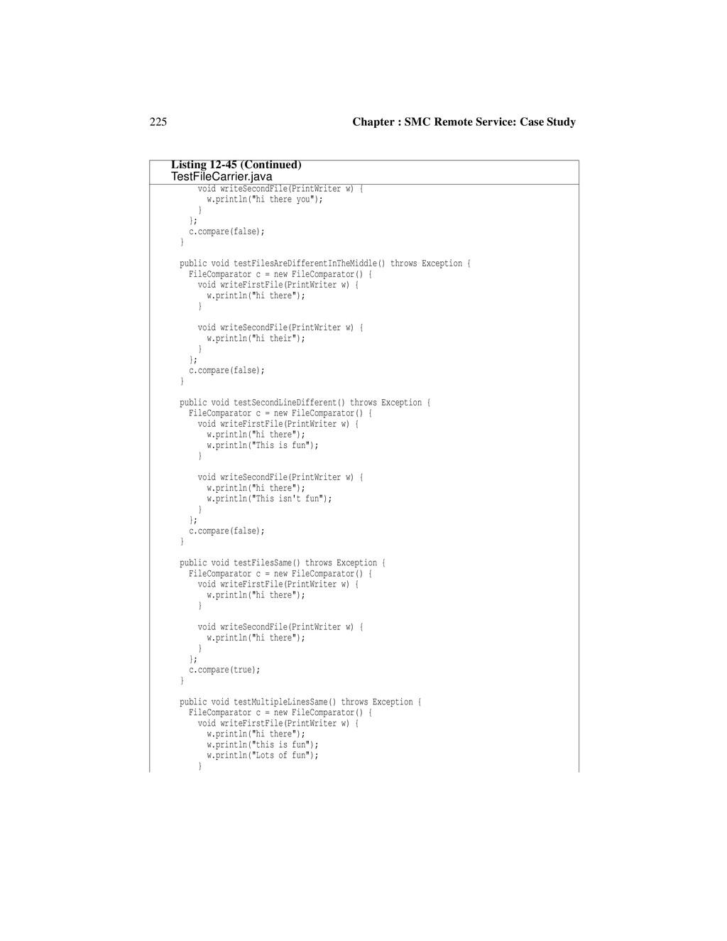 225 Chapter : SMC Remote Service: Case Study vo...