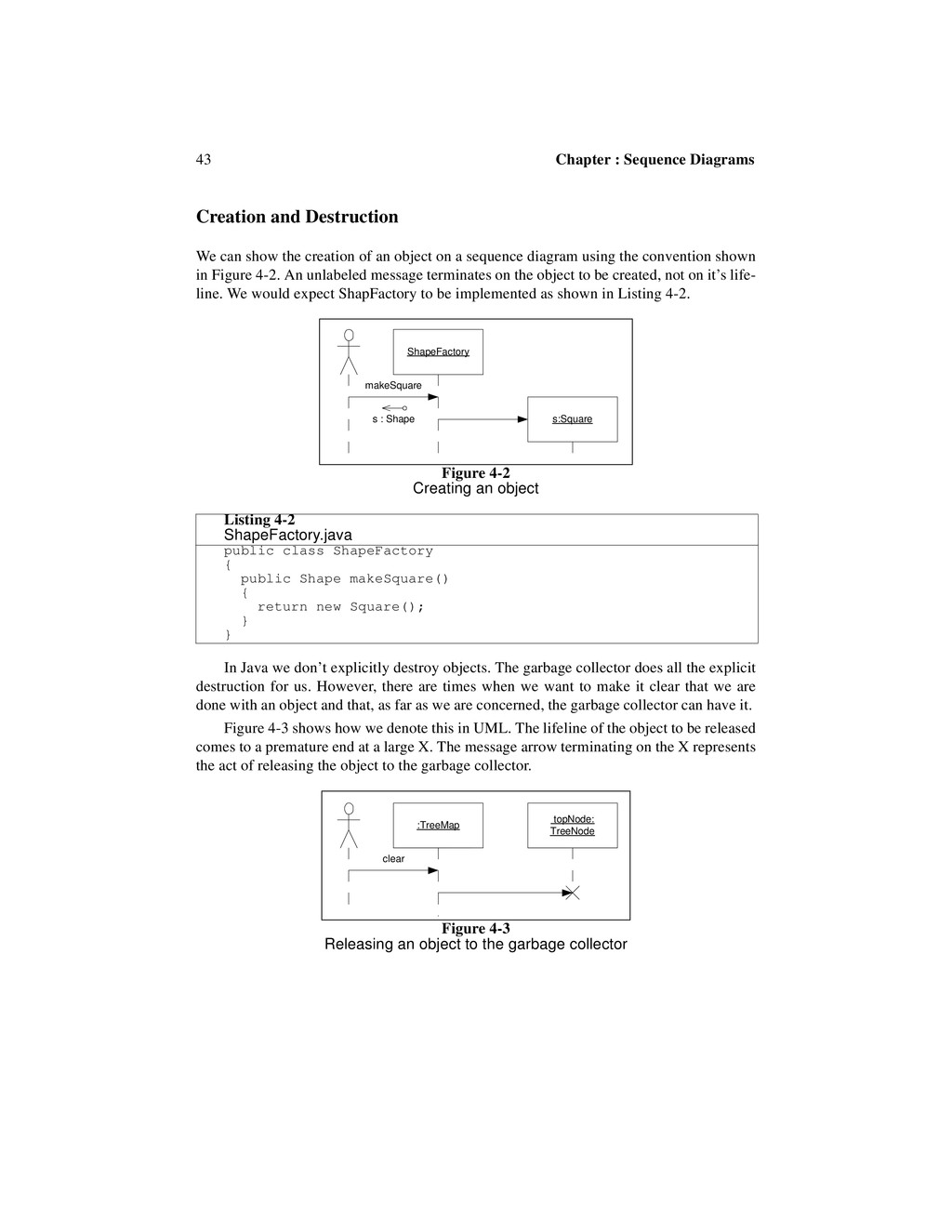 43 Chapter : Sequence Diagrams Creation and Des...