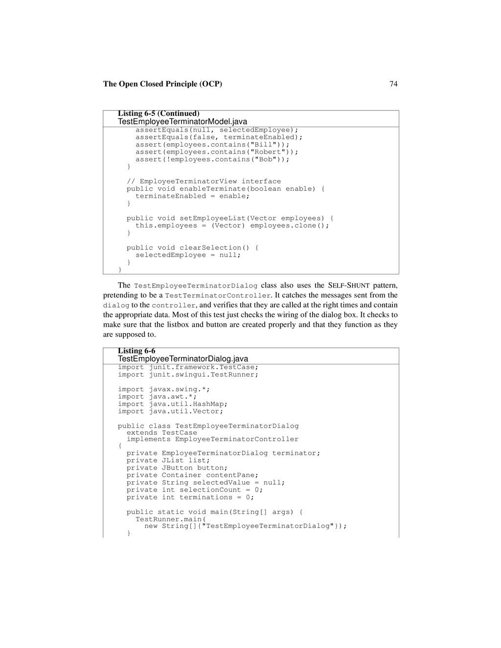 74 The Open Closed Principle (OCP) The TestEmpl...