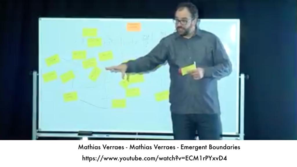Mathias Verraes - Mathias Verraes - Emergent Bo...