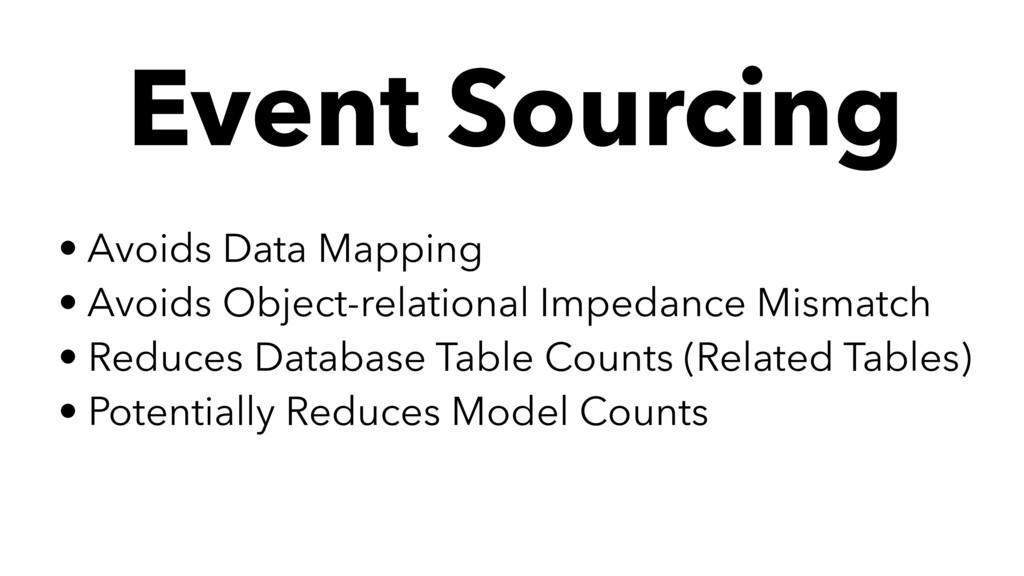 • Avoids Data Mapping • Avoids Object-relationa...