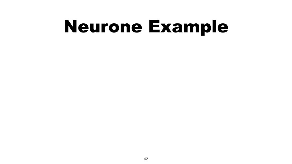 Neurone Example 42