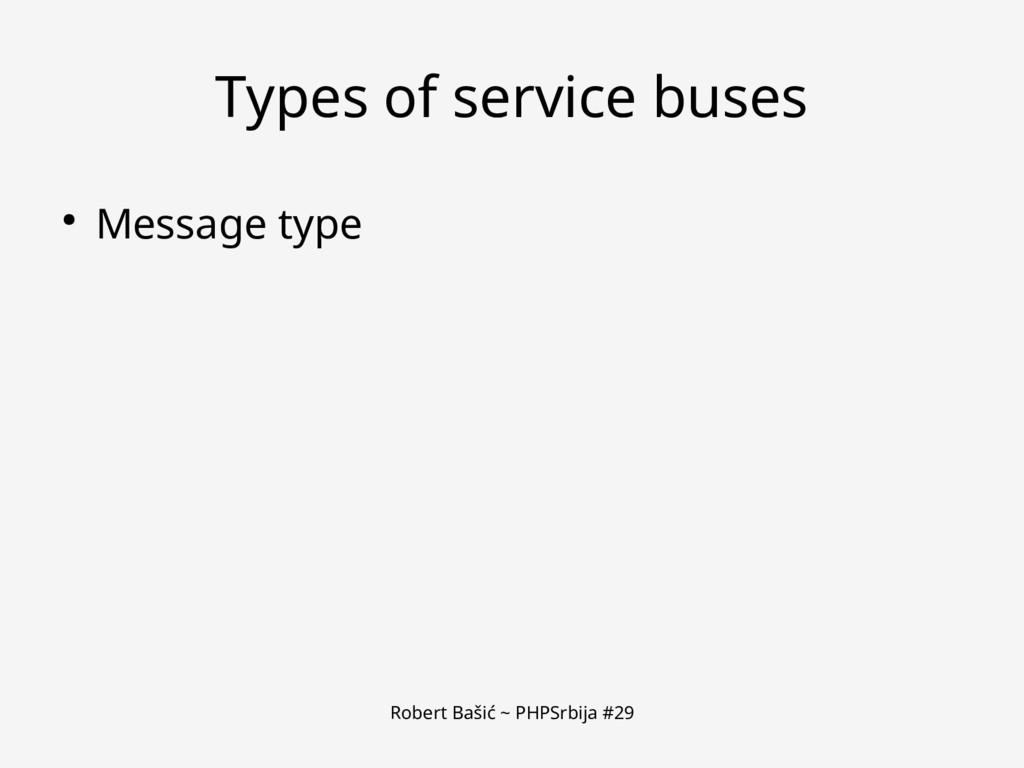 Robert Bašić ~ PHPSrbija #29 Types of service b...