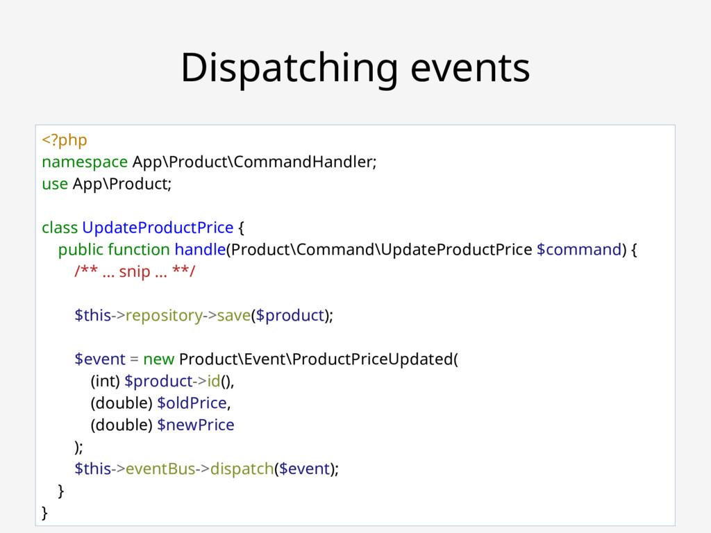 Robert Bašić ~ PHPSrbija #29 Dispatching events...