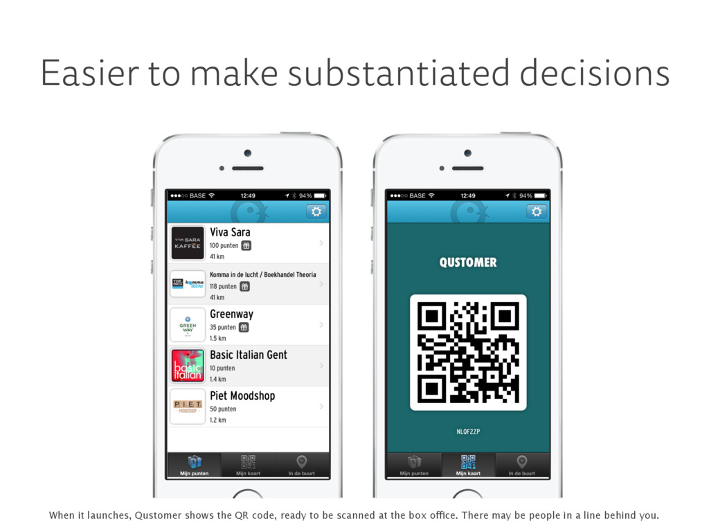 Easier to make substantiated decisions When it ...