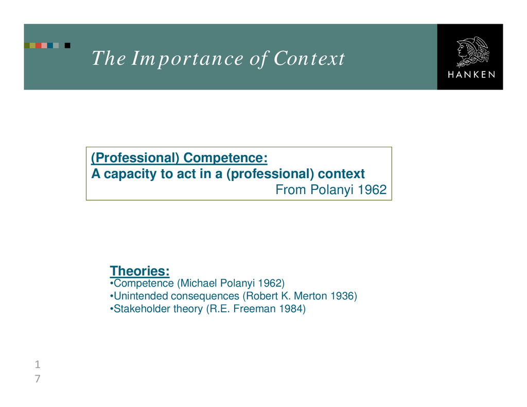 1 7 The Importance of Context (Professional) Co...