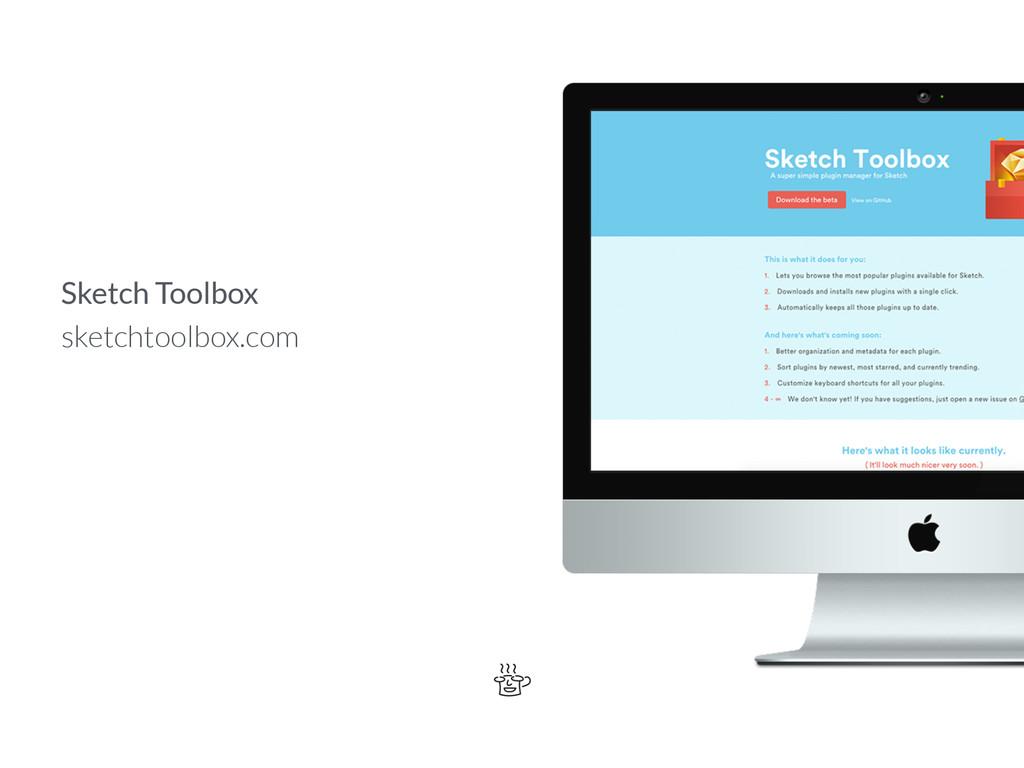 Sketch Toolbox sketchtoolbox.com