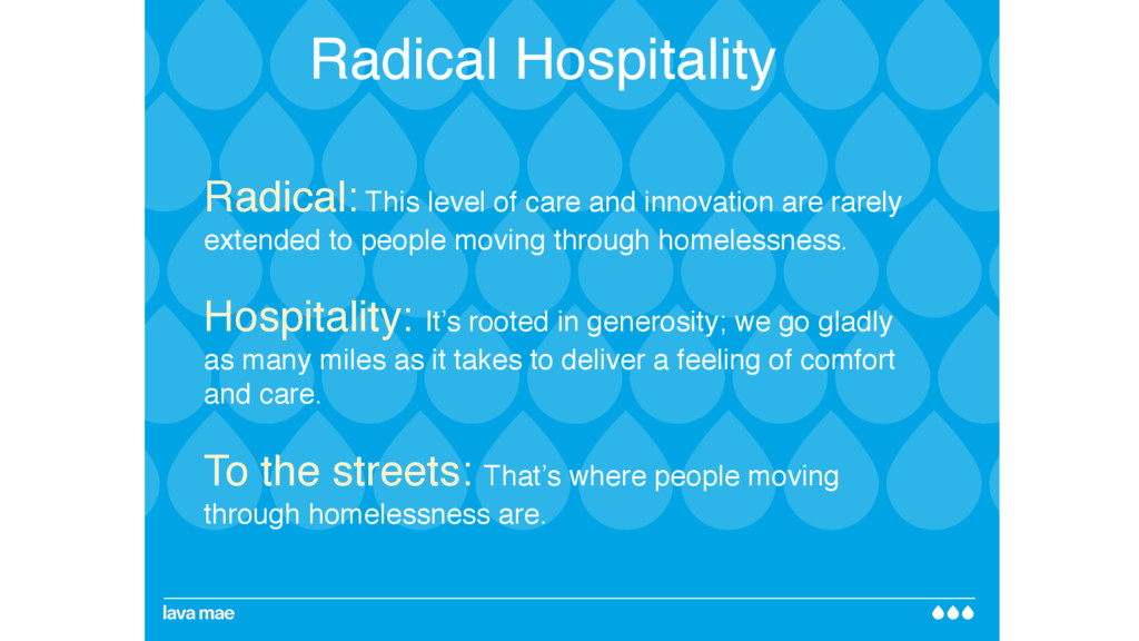 Radical: This level of care and innovation are ...