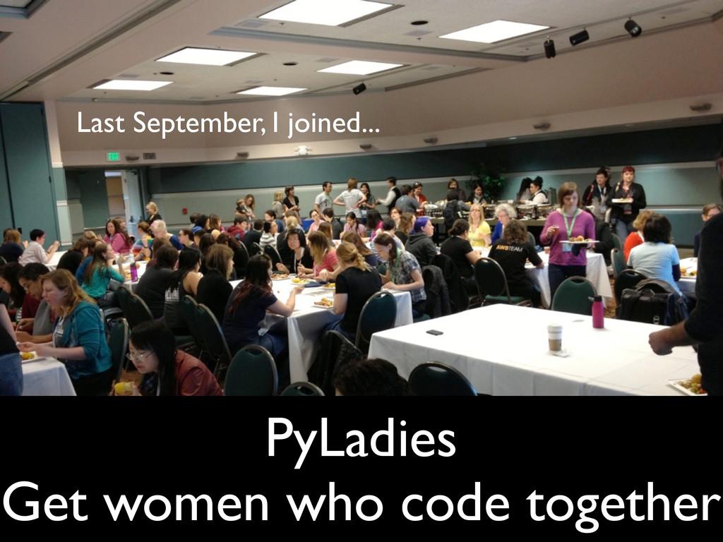 CSTA - July 16, 2013 PyLadies Get women who cod...