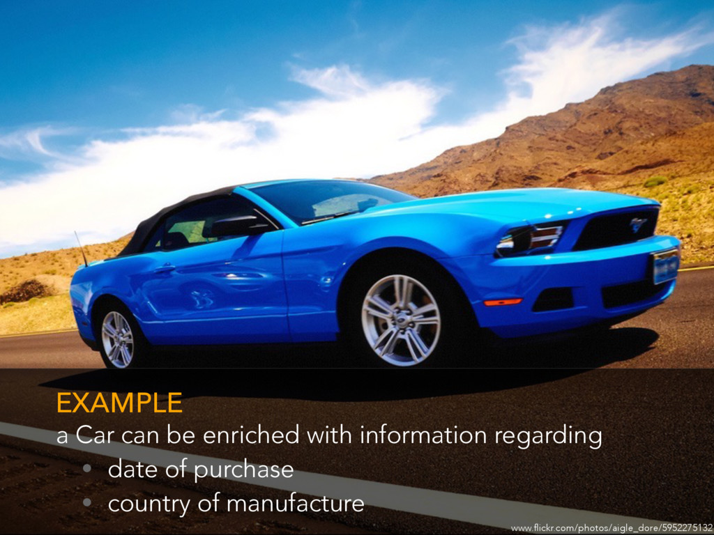 a Car can be enriched with information regardin...