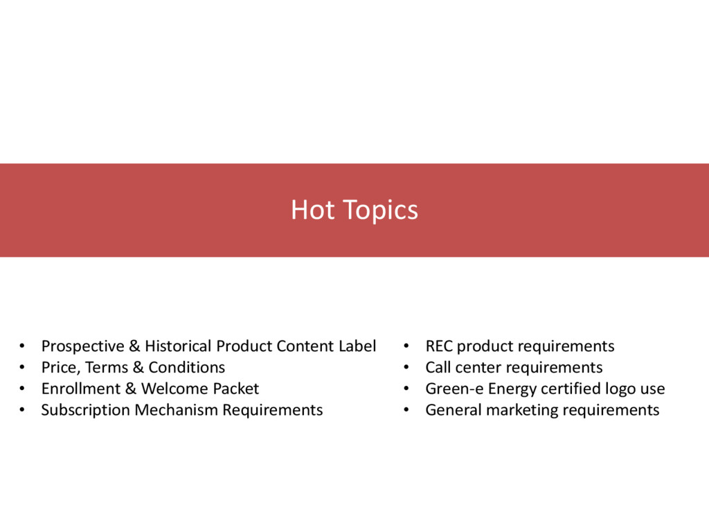 • Prospective & Historical Product Content Labe...