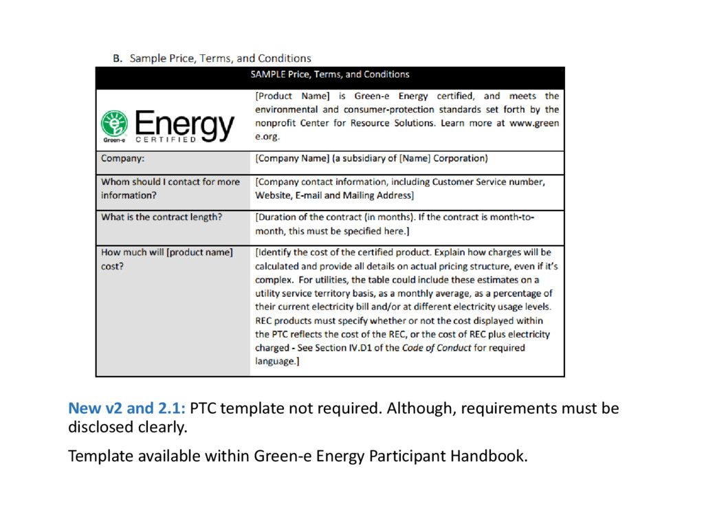 New v2 and 2.1: PTC template not required. Alth...