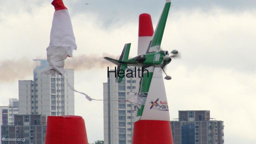 @stevenscg Health