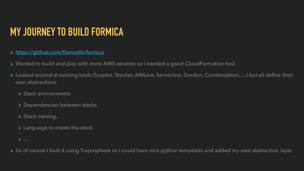 MY JOURNEY TO BUILD FORMICA ▸ https://github.co...