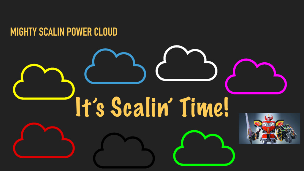MIGHTY SCALIN POWER CLOUD It's Scalin' Time!