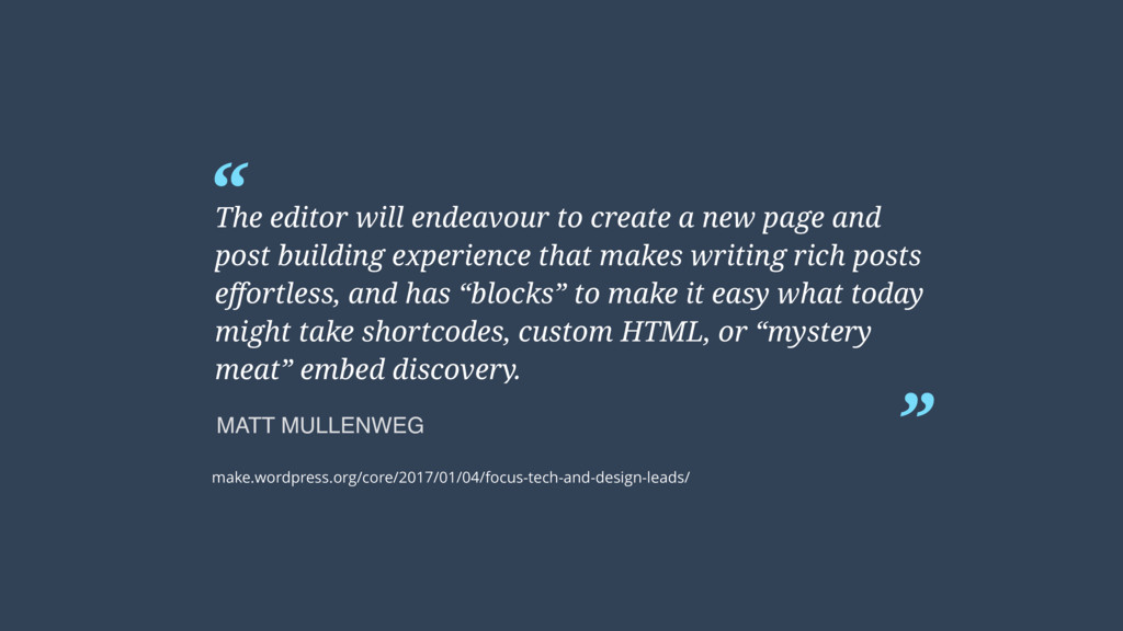 """"""" """" The editor will endeavour to create a new p..."""